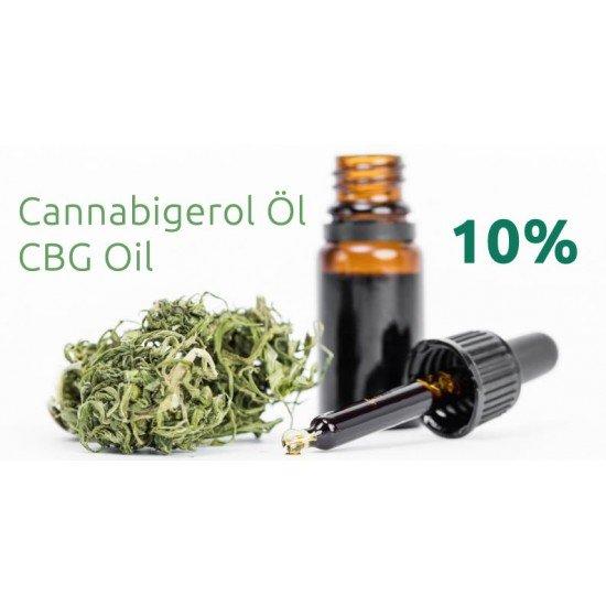 CBG Cannabigerol hempseed oil 10 %, 1000mg - 10ml